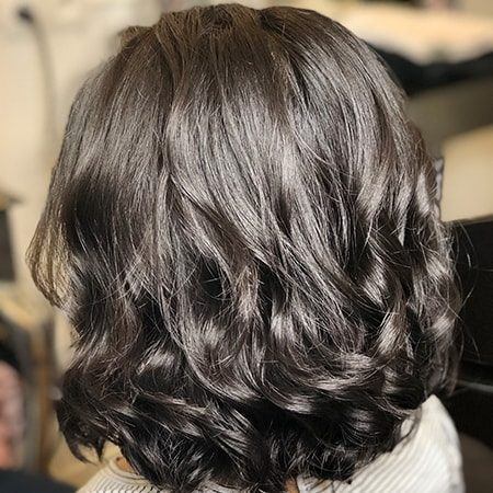 Coupe de cheveux + Brushing